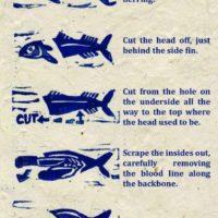 Kaip išdarinėti žuvį