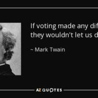 Well said sir Twain